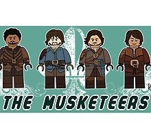 The Musketeers by lluviayui