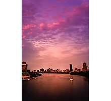 Charles River , Boston Photographic Print