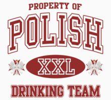 Polish Drinking Team t shirt by PolishArt