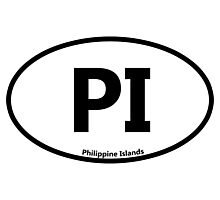 PI - Philippine Islands Photographic Print