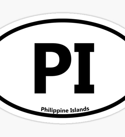 PI - Philippine Islands Sticker