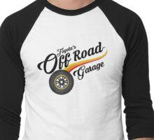 Off Road Garage Men's Baseball ¾ T-Shirt