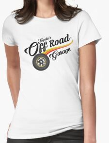 Off Road Garage Womens Fitted T-Shirt