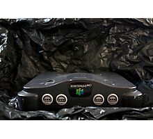 Nintendo 64 System and AC Power Cord Photographic Print