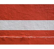 Flag Photographic Print