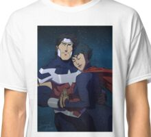 Wonderous Man and Superwoman Classic T-Shirt