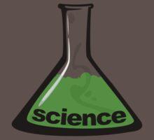 Science Beaker Green One Piece - Short Sleeve