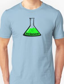 Science Beaker Green Unisex T-Shirt