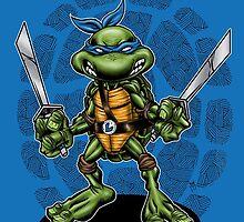 Leonardo TMNT by webninja