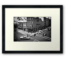 Streets of New York II Framed Print