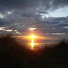 Sunset over Dunnet beach by JaneMerson