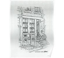 AMSTERDAM 1914 - PENCIL DRAWING Poster