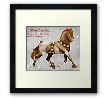 Winter Colouring Contest3 Framed Print