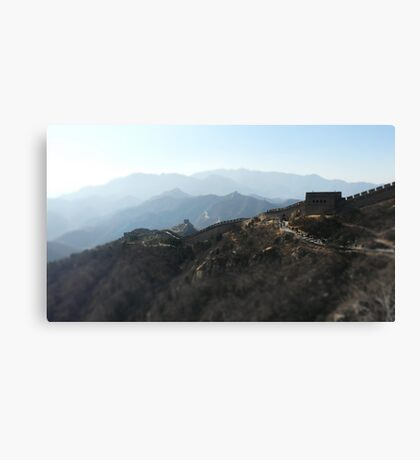 The Great Wall II Canvas Print
