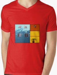 Urban Fragments III Mens V-Neck T-Shirt