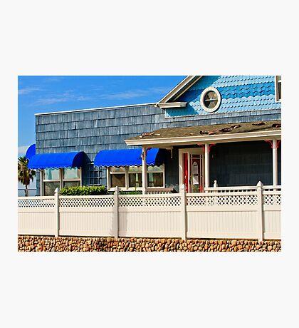 Beach House Oceanside California Photographic Print