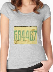 The Secret Code Women's Fitted Scoop T-Shirt