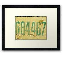 The Secret Code Framed Print