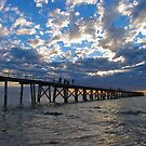 Port Noarluga Jetty, Adelaide by Ali Brown