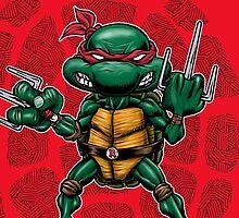 Raphael TMNT by webninja