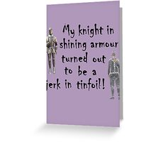 My Knight Greeting Card