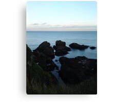 Seascape from Slains Castle, Aberdeenshire Canvas Print