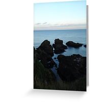 Seascape from Slains Castle, Aberdeenshire Greeting Card