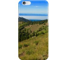 Mountain Meadows and Straits iPhone Case/Skin