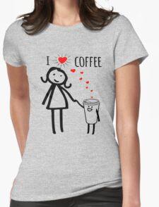 Cute I Love Coffee Tees T-Shirt
