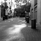 Quiet Time in Market Lane by Janie. D