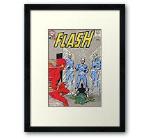 Flash vs Apple! Framed Print