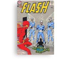 Flash vs Apple! Canvas Print