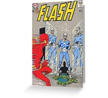 Flash vs Apple! Greeting Card