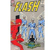 Flash vs Apple! Photographic Print