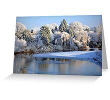 December River Greeting Card