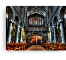 Pipe Organ - Constance Cathedral Canvas Print