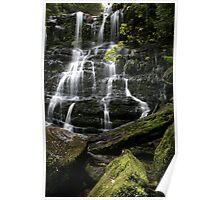 Nelson Falls, Tasmania, Australia Poster