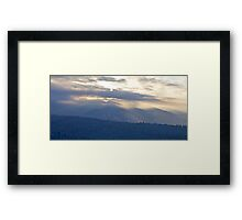 Purple Haze  Tatra Mountains landscape  -  Poland  . Tribute to Marcus Miller by Brown Sugar . Views (160) So cool !!! Thank you friends !!! Framed Print