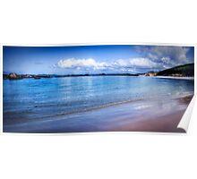 """""""Mazzoletti Beach"""" Poster"""