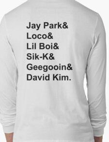 SMTM4 - Team AOMG Long Sleeve T-Shirt