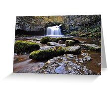 West Burton Flow Greeting Card