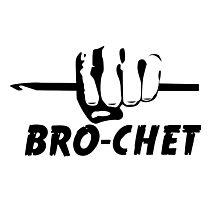 Bro-chet Photographic Print