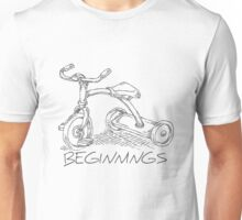 Beginnings - Tricycle Unisex T-Shirt