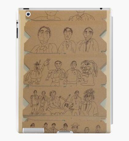 older work on cardboard, May 2011 - HBN 003 iPad Case/Skin