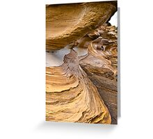 The Painted Cliffs Greeting Card