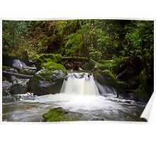 Indian Creek Waterfall Poster