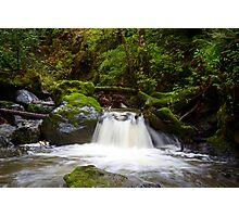 Indian Creek Waterfall Photographic Print