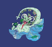 Larravide Japanese Monster multi bckgrn Unisex T-Shirt