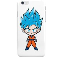 Goku ssgss white iPhone Case/Skin