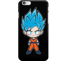 Goku ssgss black iPhone Case/Skin